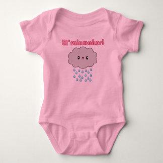 Kawaii regnar den molnLil rainmakeren! (rosa text) T Shirt