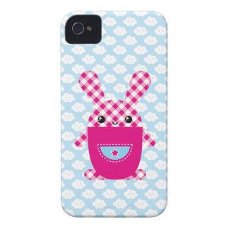 Kawaii rutig kanin Case-Mate iPhone 4 cases