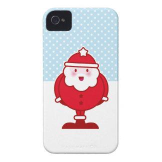 Kawaii Santa iPhone 4 Fodral