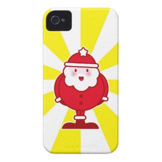 Kawaii Santa iPhone 4 Case-Mate Skal