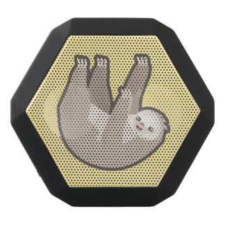 Kawaii Sloth Svart Bluetooth Högtalare
