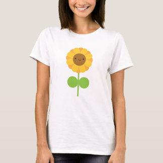 Kawaii solros tshirts