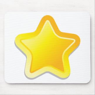 Kawaii stjärna musmatta