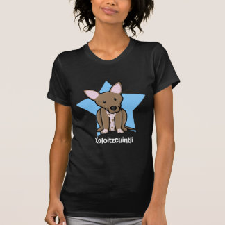 Kawaii stjärnaXoloitzcuintli damer T-shirts