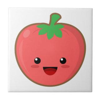 Kawaii tomat kakelplatta