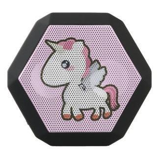 Kawaii Unicorn Svart Bluetooth Högtalare