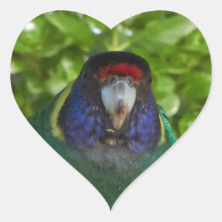 Kaxiga 28 hjärtformat klistermärke
