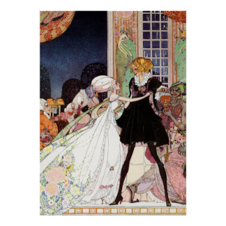 Kay Nielsens Prince Charmig och Cinderella Poster