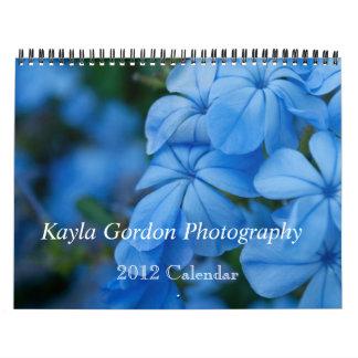 Kayla Gordon fotografi 2012 Kalender