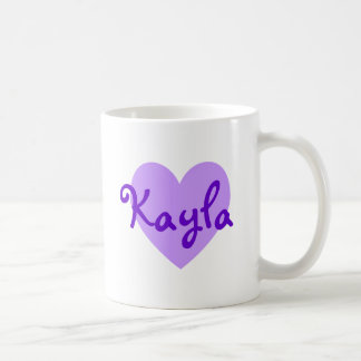 Kayla i lilor kaffemugg
