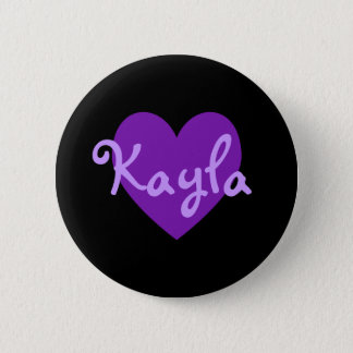 Kayla i lilor standard knapp rund 5.7 cm