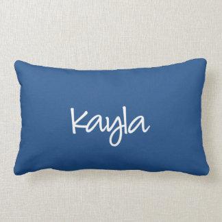 Kayla kudder - modernt skriva lumbarkudde