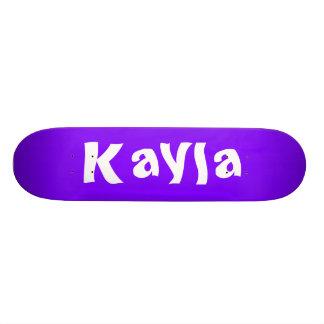 Kayla personligSkateboard Skateboard Bräda 19,5 Cm