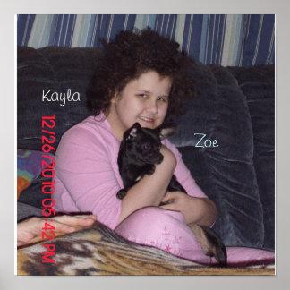Kayla & Zoe Poster