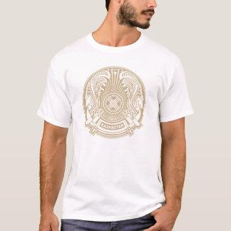 kazakhstan vapensköld t-shirt