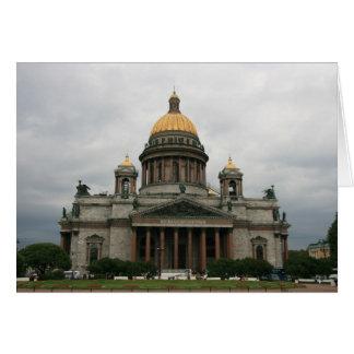 Kazansky domkyrka hälsningskort