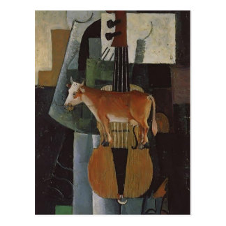 Kazimir Malevich- ko och lurendrejeri Vykort