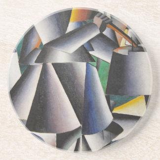 Kazimir Malevich konst Underlägg Sandsten