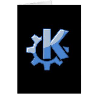 KDE-Linux Hälsningskort