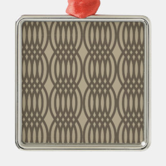 Kedjar brunt marockanskt för trendig mönster julgransprydnad metall