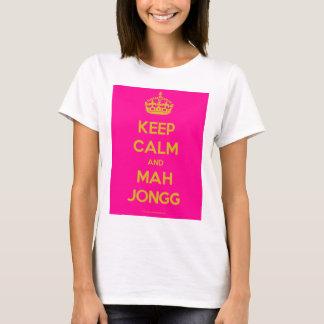 Keep-Calm-And-Mah-Jongg.pdf Tröja