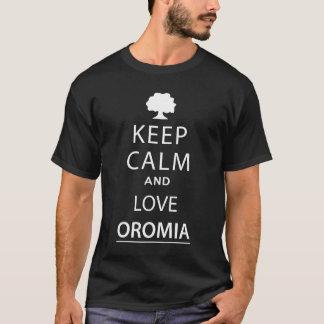 keep calm oromo t-shirt