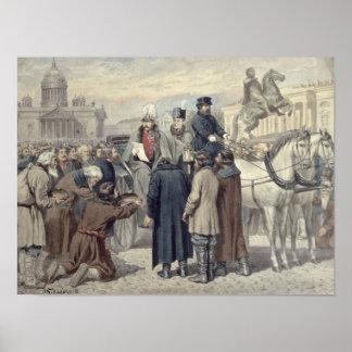 Kejsare Alexander mig Poster
