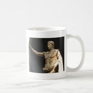 Kejsare Constantine, första kristna romerska Kaffemugg