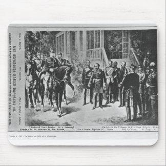 Kejsare Napoleon III och Kaiser Wilhelm mig Musmatta