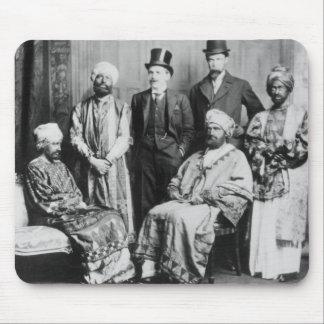 Kejsaren av Abyssinia och hans Court Musmatta