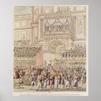 Kejsaren och Empresshälerit vördnaden Poster