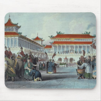 Kejsaren Teaon-Kwang som granskar hans vakter, Pal Musmatta