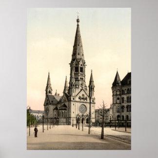 KejsareWilhelms kyrka för minnesmärke, Berlin, Poster