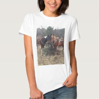 Kelhästar på enshirt. tee