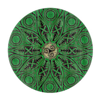 Kelly grön Triskele Mandala