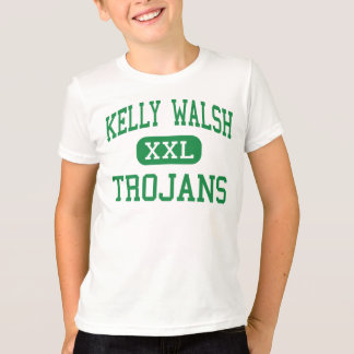 Kelly Walsh - Trojans - kick - Casper Wyoming T Shirts
