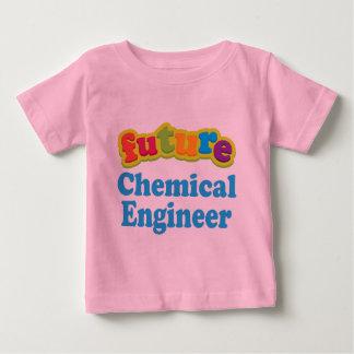 Kemisk begynna babyT-tröja för ingenjör (framtid) Tröja