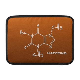 Kemisk Caffiene molekyl (strukturera), MacBook Sleeve