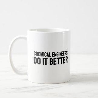 Kemiska ingenjörer gör det som är bättre - kaffemugg