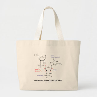 Kemiskt strukturera av molekylär RNA (strukturera) Jumbo Tygkasse