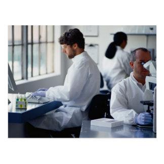 Kemister som är funktionsdugliga i ett vykort