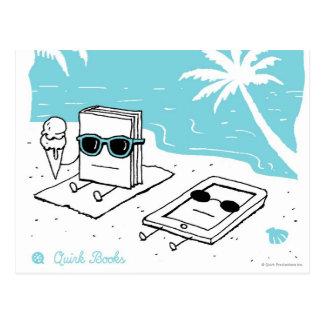 Kendall & Paige - strand Vykort