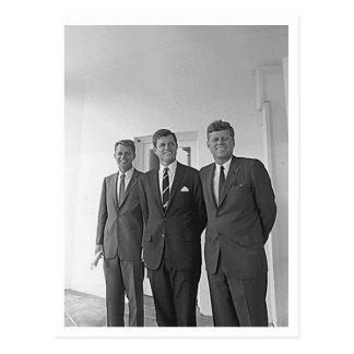 Kennedy bröder, John, Ted, Robert Vykort
