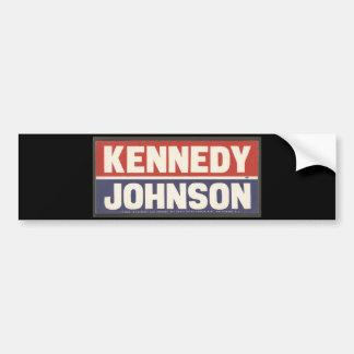 Kennedy och Johnson klistermärke