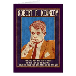 """Kennedy Robert - """"varför inte? """", Hälsningskort"""