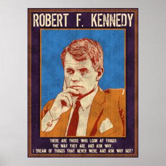 """Kennedy Robert - """"varför inte? """", Poster"""