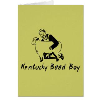Kentucky Baad pojke Hälsningskort