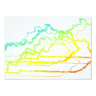 kentucky kylablur 11,4 x 15,9 cm inbjudningskort