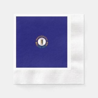 Kentucky statlig flaggadesign papper servetter