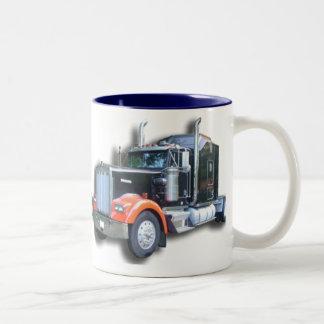 Kenworth lastbilmugg Två-Tonad mugg